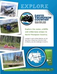 EXPLORE  DAVID THOMPSON COUNTRY CHALLENGE YOUR INNER EXPLORER