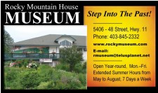 Rocky Mountain House MUSEUM Step Into The Past!