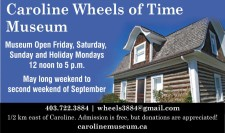 Museum Open Friday, Saturday, Sunday and Holiday Mondays