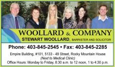 WOOLLARD & COMPANY STEWART WOOLLARD, BARRISTER AND SOLICITOR